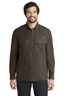 Eddie Bauer® - Long Sleeve Performance Fishing Shirt.