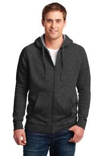 Hanes® Nano Full-Zip Hooded Sweatshirt.