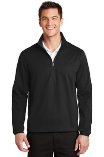 Port Authority® Active 1/2-Zip Soft Shell Jacket.