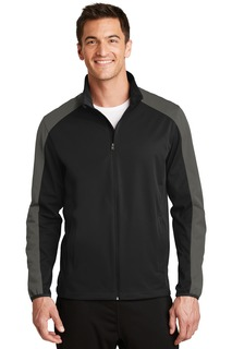 Port Authority® Active Colorblock Soft Shell Jacket.