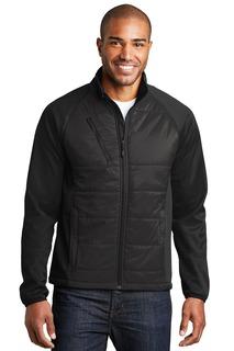 Port Authority® Hybrid Soft Shell Jacket.