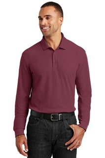 Port Authority® Long Sleeve Core Classic Pique Polo.