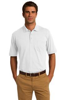 Port & Company® Core Blend Jersey Knit Pocket Polo.