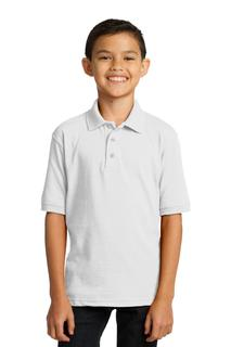 Port & Company® Youth Core Blend Jersey Knit Polo.