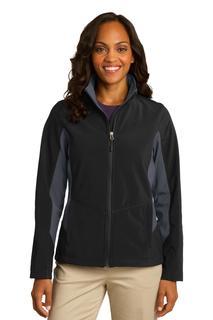 Port Authority® Ladies Core Colorblock Soft Shell Jacket.