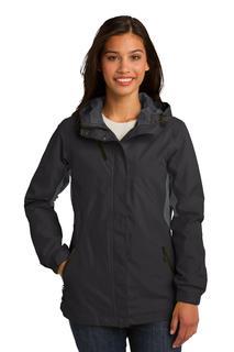 Port Authority® Ladies Cascade Waterproof Jacket.