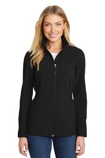 Port Authority® Ladies Cinch-Waist Soft Shell Jacket.
