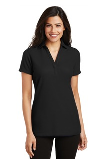 Port Authority® Ladies Silk Touch Y-Neck Polo.