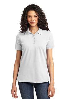 Port & Company® Ladies Core Blend Pique Polo.