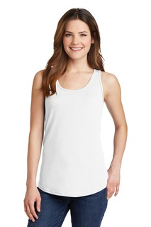 Port & Company® Ladies Core Cotton Tank Top.