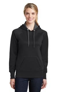 Sport-Tek® Ladies Tech Fleece Hooded Sweatshirt.