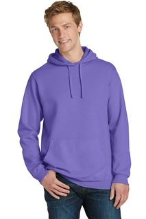 Port & Company® Pigment-Dyed Pullover Hooded Sweatshirt.