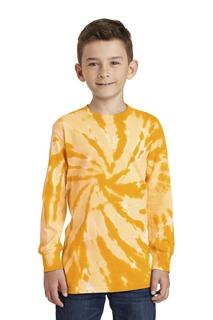 Port & Company® Youth Tie-Dye Long Sleeve Tee.