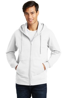 Port & Company® Fan Favorite Fleece Full-Zip Hooded Sweatshirt.