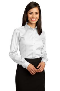 Red House® - Ladies Non-Iron Pinpoint Oxford Shirt.