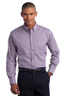 Red House® - Mini-Check Non-Iron Button-Down Shirt.