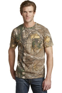 Russell Outdoors™ - Realtree® Explorer 100% Cotton T-Shirt with Pocket.