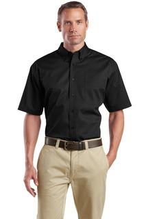 CornerStone® - Short Sleeve SuperPro Twill Shirt.