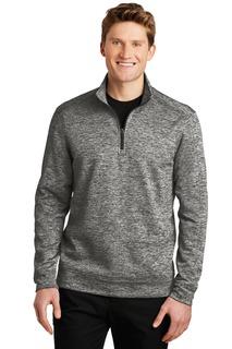Sport-Tek® PosiCharge® Electric Heather Fleece 1/4-Zip Pullover.