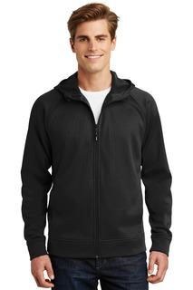 Sport-Tek® Rival Tech Fleece Full-Zip Hooded Jacket.