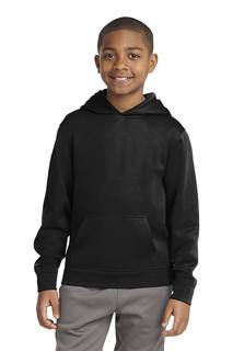Sport-Tek® Youth Sport-Wick® Fleece Hooded Pullover.