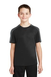 Sport-Tek® Youth PosiCharge® Competitor Sleeve-Blocked Tee.