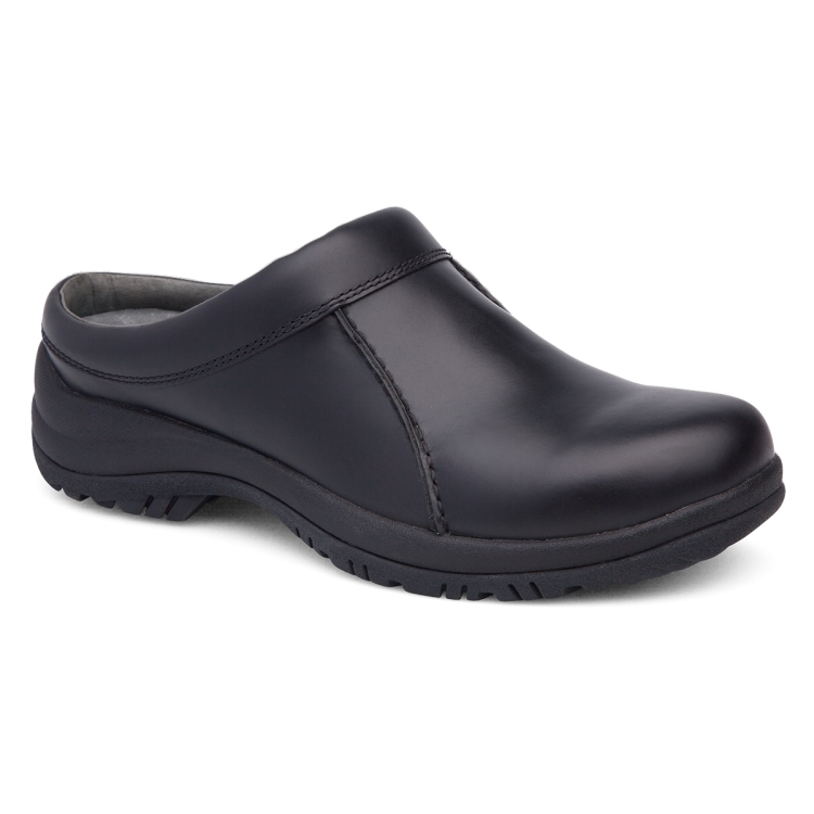 Dansko Black Smooth Wil Men's Clog