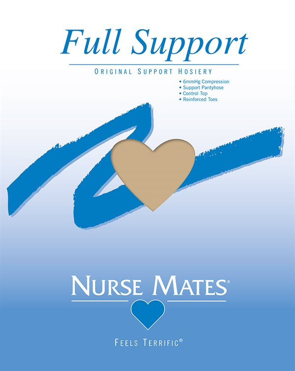 Nurse Mates Nearly Nude Full Support Pantyhose
