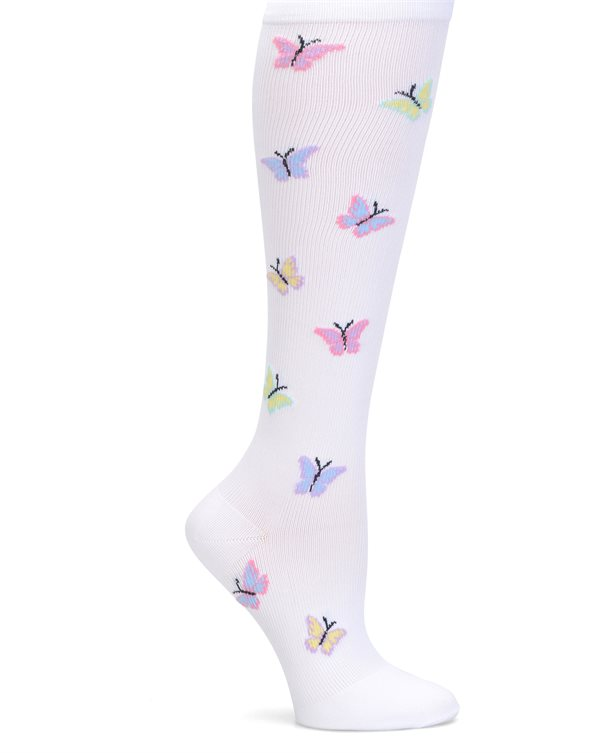 Nurse Mates Butterfly Compression Trouser Socks