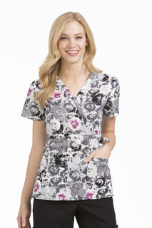 Med Couture Women's Mia Print Top