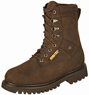 Rocky Ranger Steel Toe Insulated Gore-Tex Boots - Oil Brown Nubuck