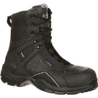 FQ0911113 Rocky 1st Med Carbon Fiber Toe Puncture-Resistant Side-Zip Waterproof Duty Boot
