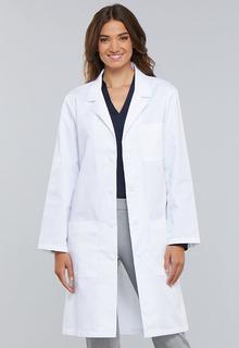 "Cherokee Certainy Antimicrobial 40"" Unisex Lab Coat"