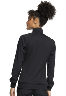 Cherokee Certainty Antimicrobial Zip Front Warm-Up Scrub Jacket