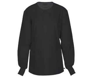 Unisex Snap Front Warm-up Jacket