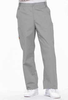 Mens Zip Fly Pull-On Pant