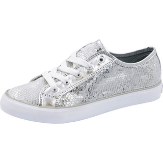 Footwear - Sequin Lace Up