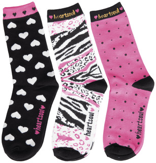 1 3pr pk of Crew Socks