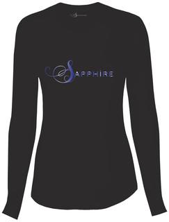 Sapphire Women's Chelsea Long Sleeve Knit Tee