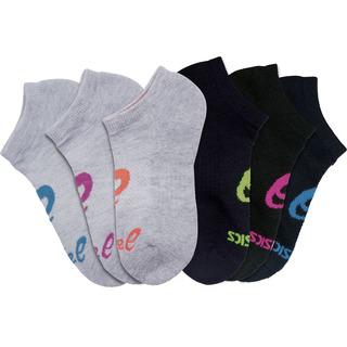 6pr pack Asics No Show Sock