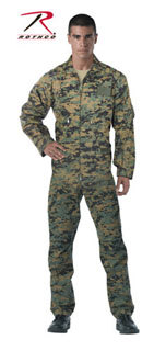 Rothco Woodland Digital Camo Air Force Style Flightsuit