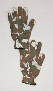Green Camo ''spandoflage'' Hunting Gloves