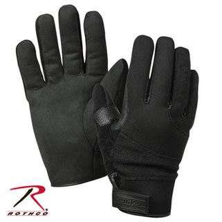 Rothco Cold Weather Street Shield Gloves - Black
