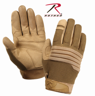 Rothco Padded Knuckle Glove - Coyote