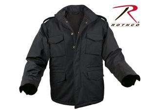 5248 Rothco Soft Shell Tactical M-65 Jacket-Black