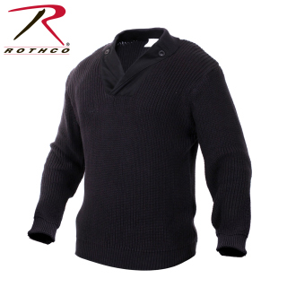 55349 Rothco Wwii Vintage Sweater - Black