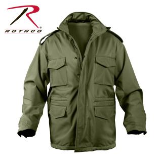5746 Rothco Soft Shell Tactical M-65 Jacket - Od