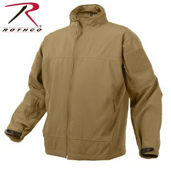 5863 Rothco Covert Ops Lt Wt Soft Shell Jkt-Coyote