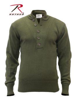 6369 6368 Rothco 5-Button Acrylic Sweater