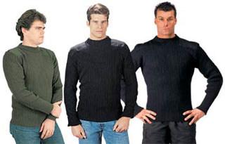 6375 Rothco Acrylic Commando Sweater